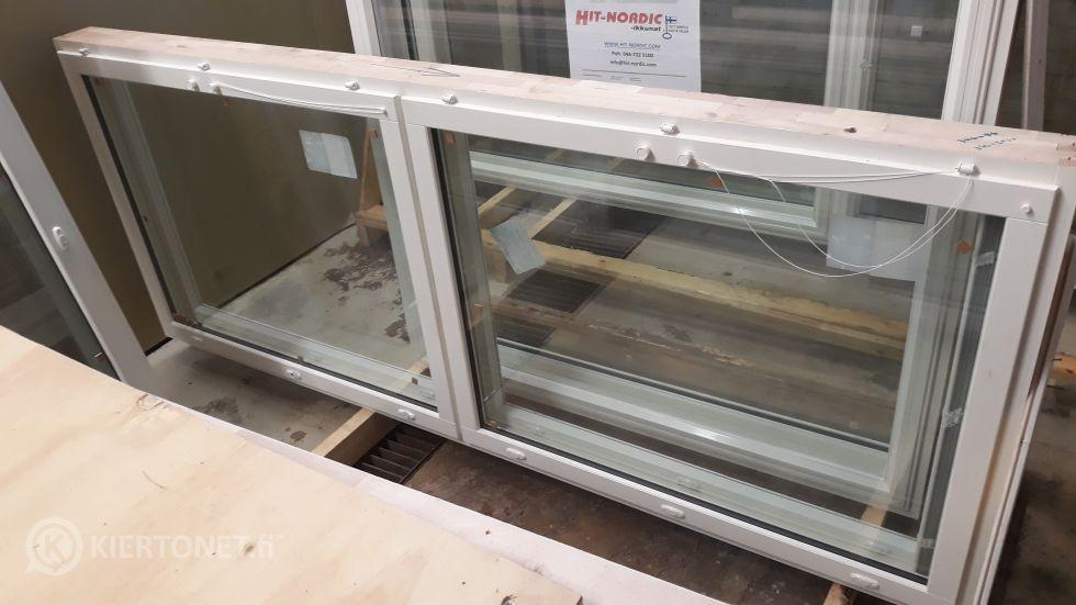 Ikkunat 5 kpl, eri kokoja