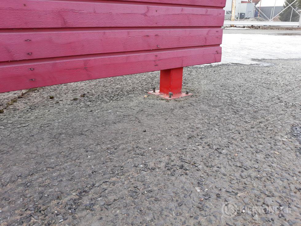 Ent. kassarakennus n. 18m2 Oulussa