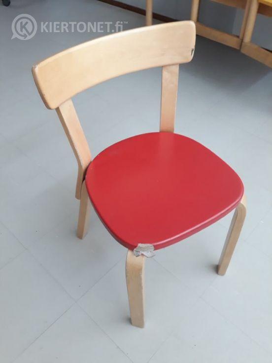 Artek-tuoli 69 (Aalto) 16 kpl