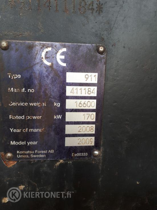 Valmet 911.4/350 CRH18 DT