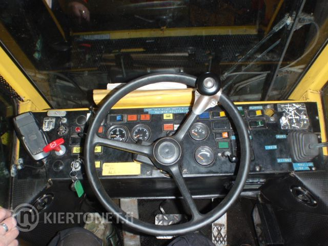 WILLE VL 645 1989 Kiinteistötraktori