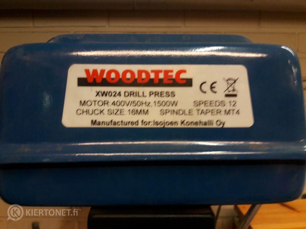 Pylväsporakone Woodtec