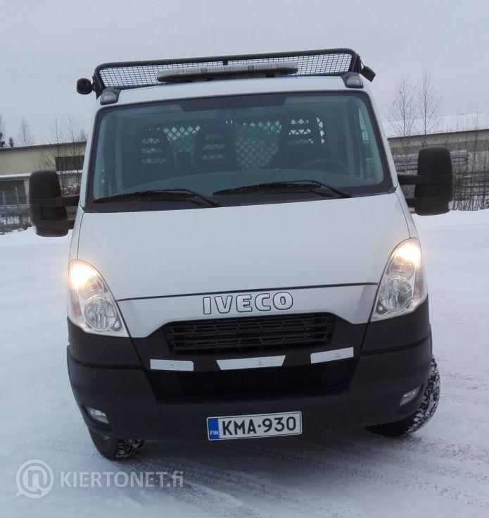 Iveco Daily 50C17 -kuorma-auto, vm. 2013 (ajettu noin 30 tkm)