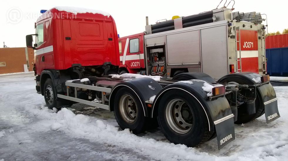 Scania R144, 338 KW, 6x2