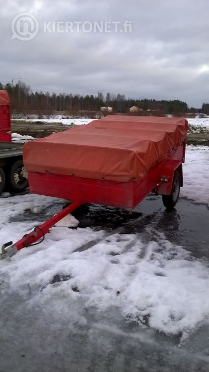 Kevytperävaunu ÖLJY-JYRI 750 2.55M