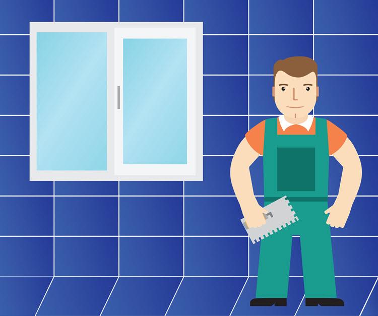 Kylpyhuoneen korjaaminen perustasoon