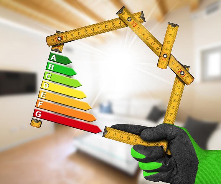 Energiatehokas korjausrakentaminen.