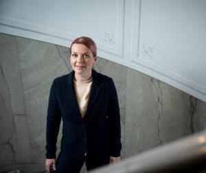 Kiinteistöliiton viestintäpäällikkö Anna-Kaisa Mänttäri