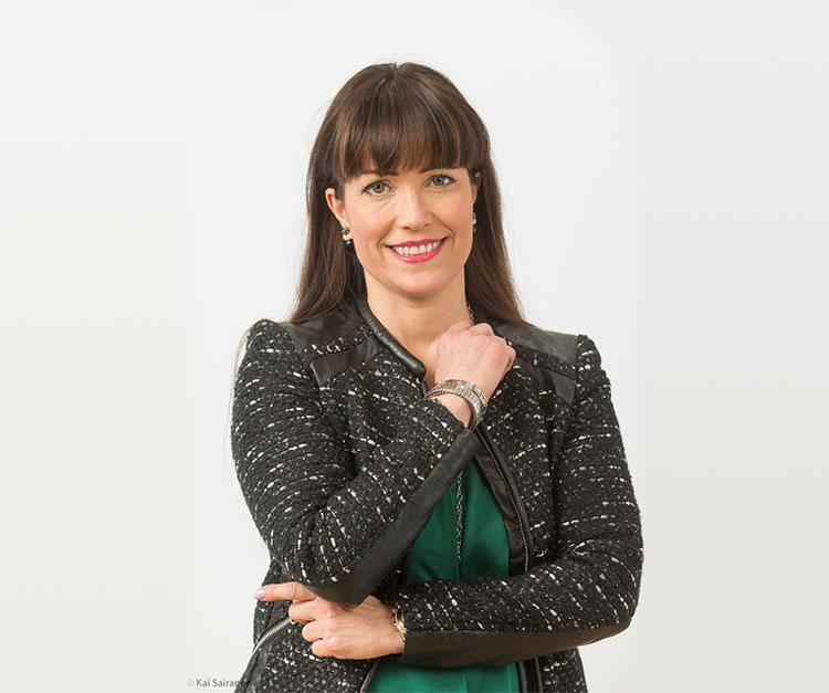Katriina Sarekoski Kiinteistöliitosta puhuu juridiikkapotpurissa airbnb:stä, tietosuojasta ja sähköautoista.