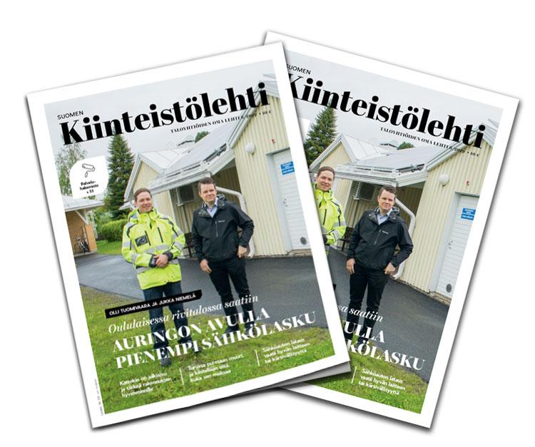Suomen Kiinteistölehden kesäkuun numero on ilmestynyt.