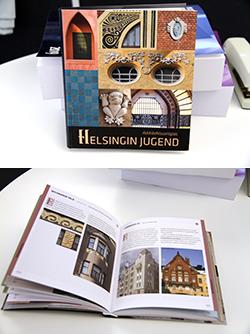 250-sivuinen Helsingin jugend -arkkitehtuuriopas.
