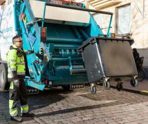 Jäteauto. Kuva: YTV / Hannu Bask