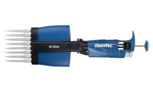 PipetPAL 8chマルチチャンネルピペット 20-200μl