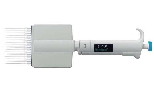 Finnpipetteデジタル 16chマルチチャンネルピペット 5-50μl