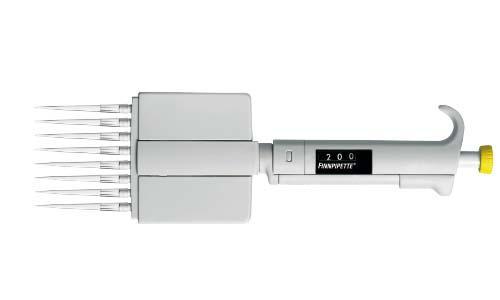 Finnpipetteデジタル 8chマルチチャンネルピペット 50-300μl