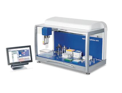自動分注システム epMotion 5075tc NGS solution パッケージ