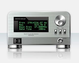 水晶振動子測定システム QCM922A