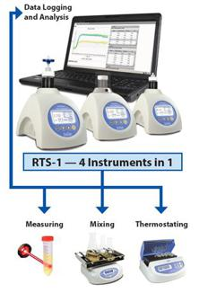 Real Time Cell Growth Logger with Reverse Spin Cycle, RTS-1C