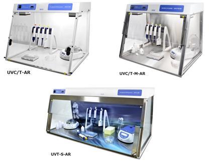 UVC/T-M-AR, DNA/RNA UV-Cleaner Box with Internal Socket