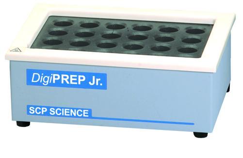 酸分解システム DigiPREP Jr.(40Pos)