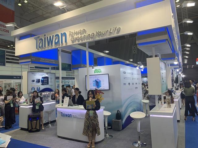 14 nhà cung cấp tiêu biểu của Văn phòng dự án Thương mại xanh Đài Loan trưng bày sản phẩm tại VIETWATER 2019, kinhtethoidai.vn