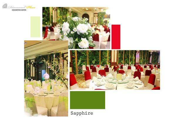Say lòng với không gian cưới mới lạ của Diamond Place, kinhtethoidai.vn