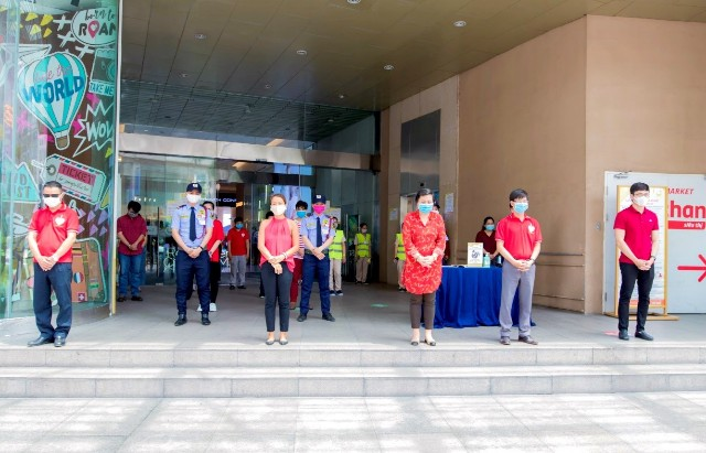 Crescent Mall dành 1 phút im lặng và ý nghĩa vào ngày mở cửa trở lại, kinhtethoidai