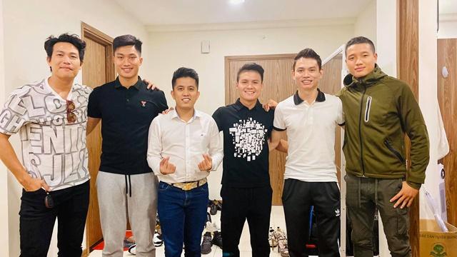 Quách Beem 'bắt tay' 6 tuyển thủ Việt Nam thực hiện MV hướng về miền trung, kinhtethoidai, kinhtethoidai.vn, kinh tế thời đại, kinh te thoi dai