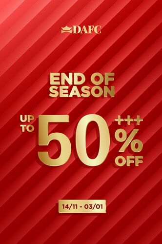 Đón đầu mùa lễ hội với sự kiện mua sắm bùng nổ ưu đãi 50%+++ với hơn 40 thương hiệu hàng đầu thế giới cùng DAFC, kinhtethoidai, kinhtethoidai.vn, kinh te thoi dai, kinh tế thời đại