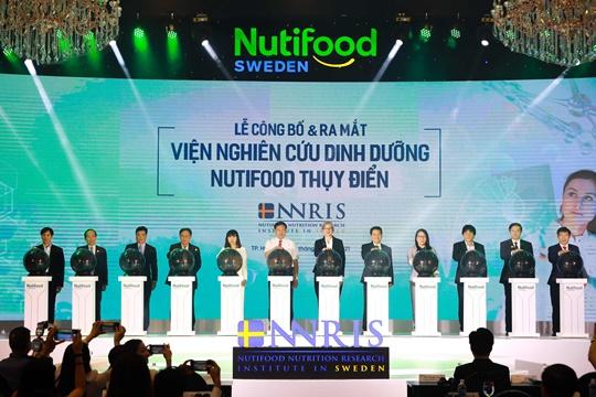 Khát vọng dinh dưỡng chuẩn cao châu Âu, nâng tầm vóc Việt, Nutifood, Viện Nghiên cứu Dinh dưỡng Nutifood Thụy Điển – NNRIS , kinhtethoidai, kinhtethoidai.vn, kinh te thoi dai, kinh tế thời đại