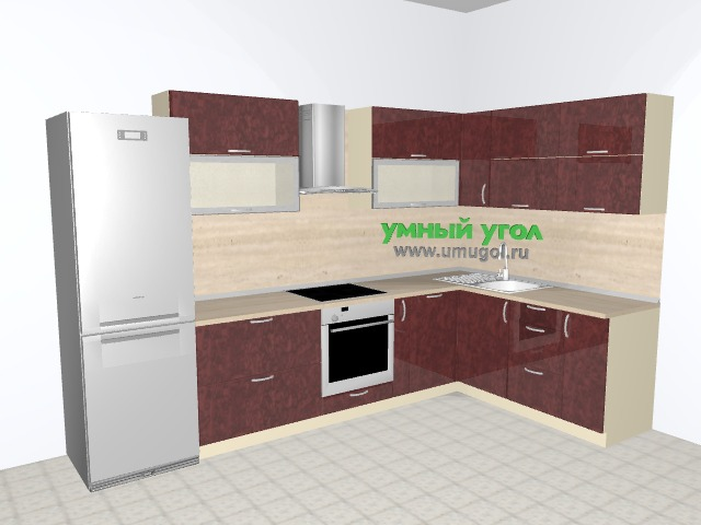Кухонный гарнитур в двухкомнатную квартиру