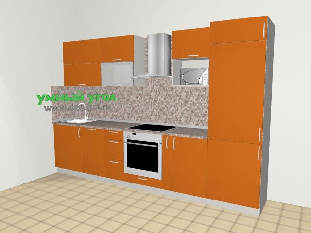 137 серия: яркая кухня для двушки