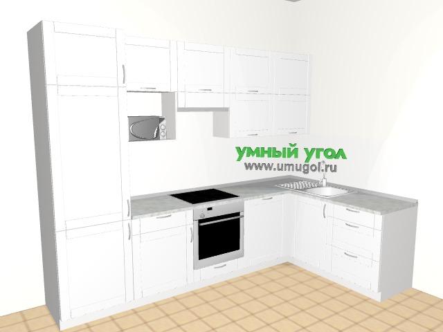 Воздушно-белая кухня