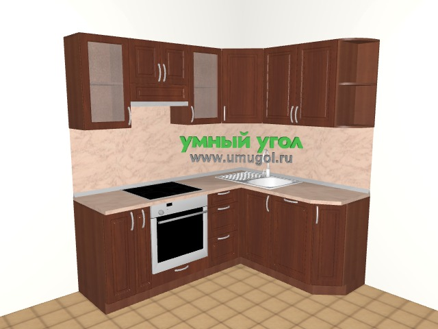 Хрущевка: кухня для трехкомнатной квартиры
