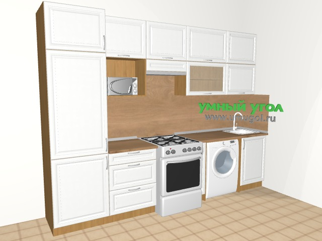 Кухонный гарнитур в однокомнатную квартиру для пары
