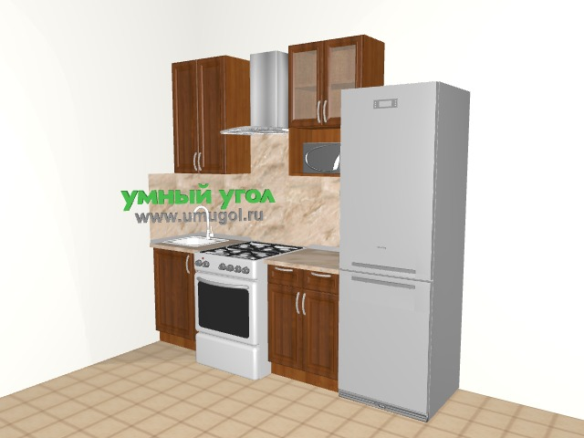 Кухонный гарнитур в однокомнатную квартиру