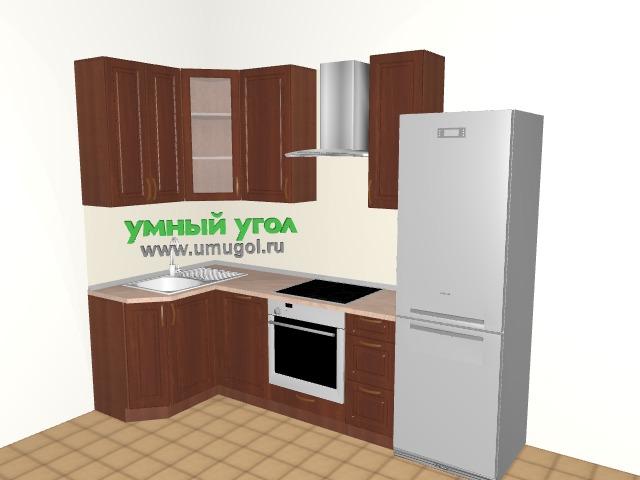 137 серия: кухня классика для однушки