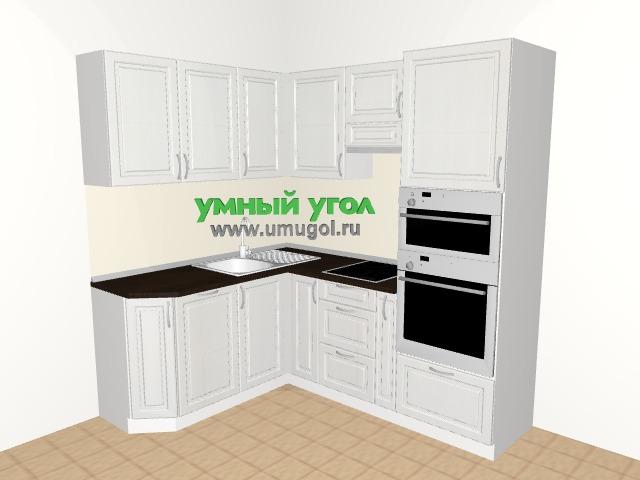 Хрущевка: кухня с пеналом для четырехкомнатной квартиры