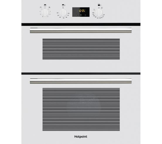 HOTPOINT DU2540WH WHITE BUILT UNDER DOUBLE FAN FITTED OVEN  image
