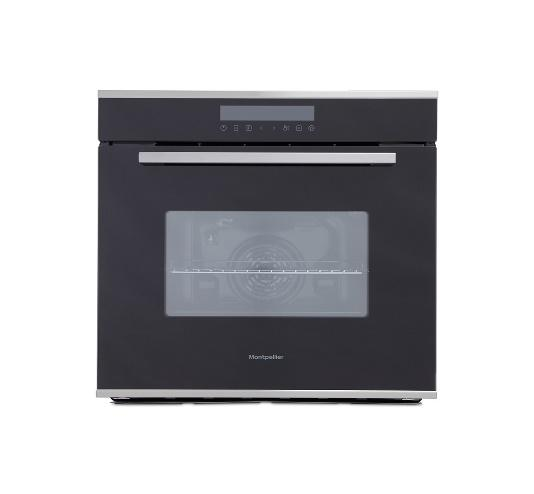 MONTPELLIER SFO73B  SINGLE BLACK BUILT IN FITTED OVEN image