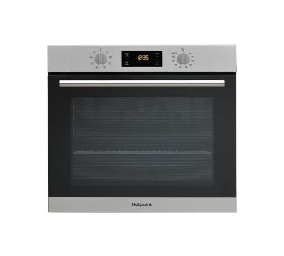 HOTPOINT SA2540HIX STAINLESS STEEL DIAMOND CLEAN SINGLE BUILT IN FITTED OVEN image