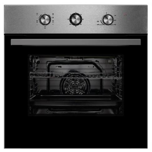MONTPELLIER  SBFO65X STAINLESS STEEL SINGLE TRUFAN ELECTRIC FITTED OVEN image