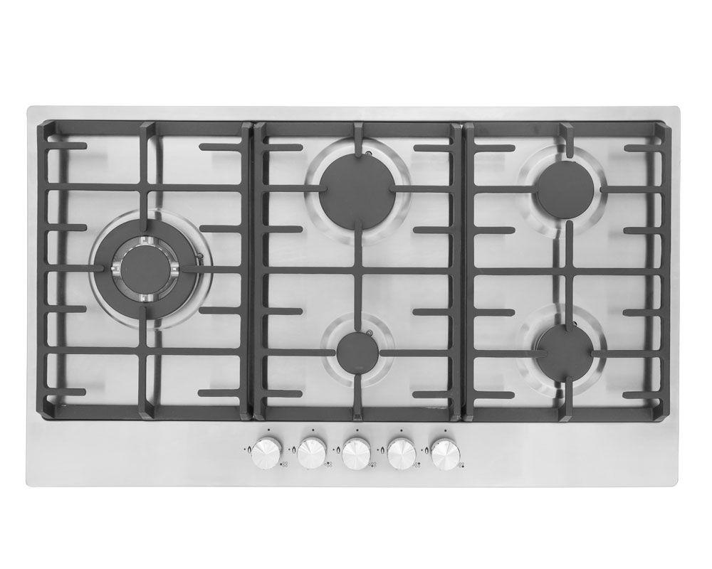 MONTPELLIER MGH90CX STAINLESS STEEL 90CM GAS FITTED HOB image