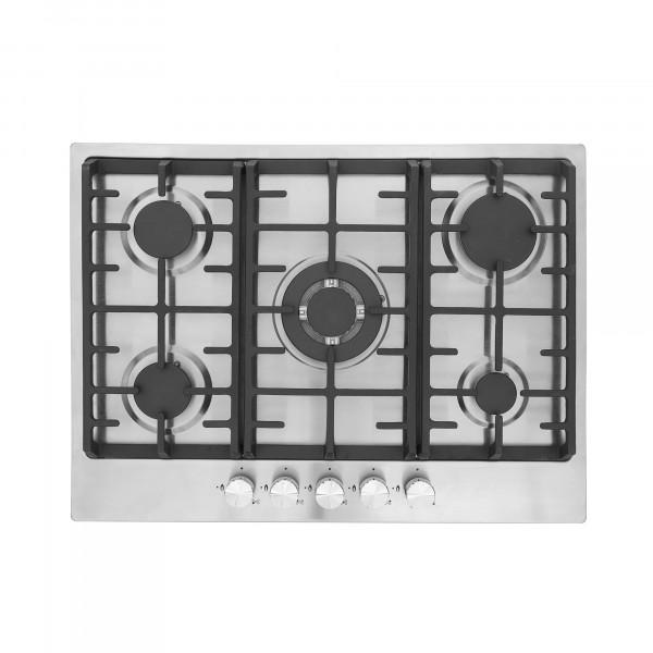 MONTPELLIER MGH75CX STAINLESS STEEL 70CM GAS HOB image