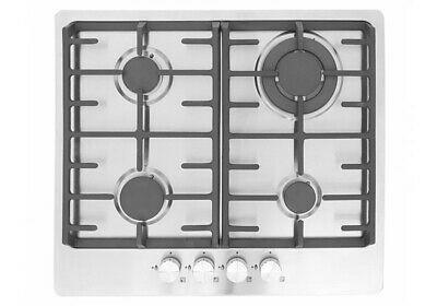 MONTPELLIER MGH61CX STAINLESS STEEL 60CM GAS HOB image