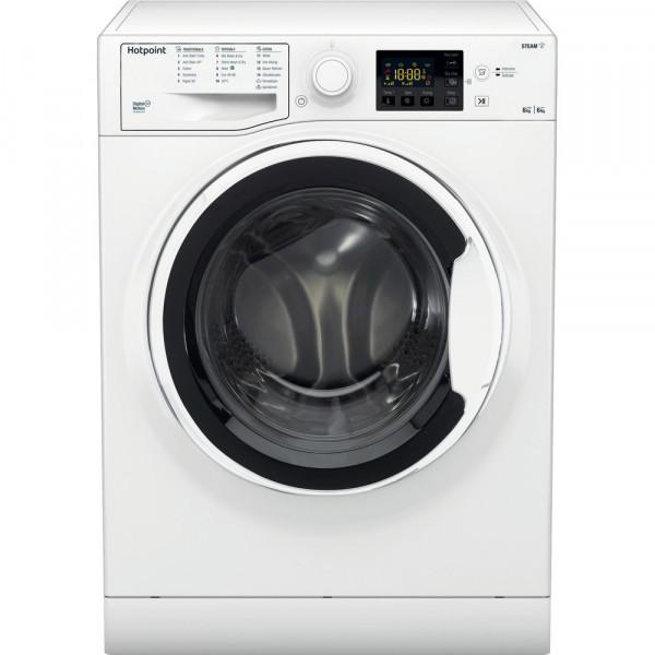 HOTPOINT RDG8643WW WHITE 8/6KG 1400 SPIN WASHER DRYER image