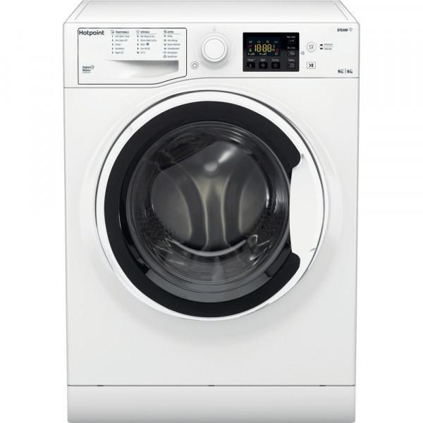 HOTPOINT RDG9643W WHITE 9KG/6KG 1400 SPIN WASHER DRYER image