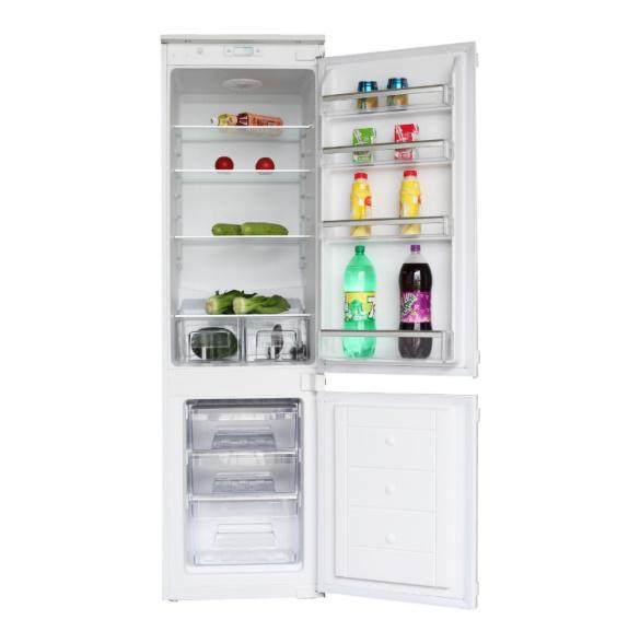 MONTPELLIER  MIFF702 70/30 STATIC INTEGRATED FRIDGE FREEZER WITH TWIN THERMOSTATS image