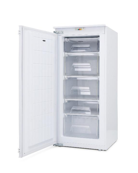 MONTPELLIER MITF122 IN COLUMN 122CM FITTED FREEZER image