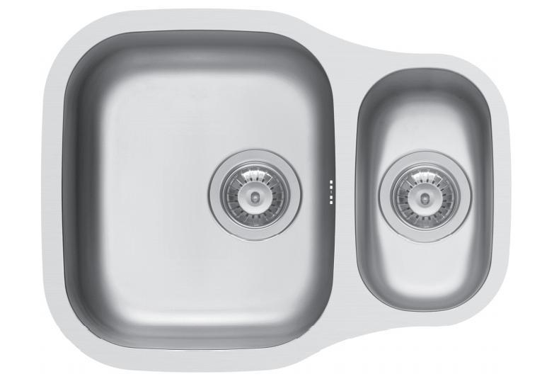 Sinks & Taps QUARRY 1.5 BOWL UNDERMOUNT KITCHEN SINK image